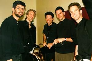 Dave Tull, John Sawoski, Jeff Driskill, Brian Reardan, and Tim Powell doing The Wiz.