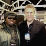 "NAMM 2008: Multi-platinum hit songwriter/drummer/producer and 2007 ASCAP Award winner John ""Cheese"" Williams (photo courtesy of John ""Cheese"" Williams)."